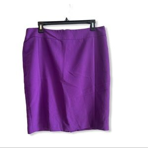 Calvin Klein Purple Skirt